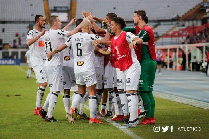 Atlético Mineiro sella su visado a la Copa Sudamericana