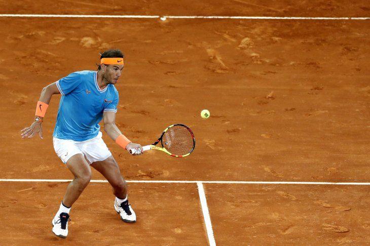 El tenista español se instaló en las semis del Abierto de Madrid.