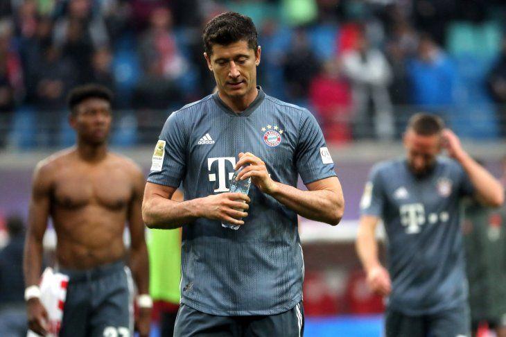 El Bayern no pudo festejar.