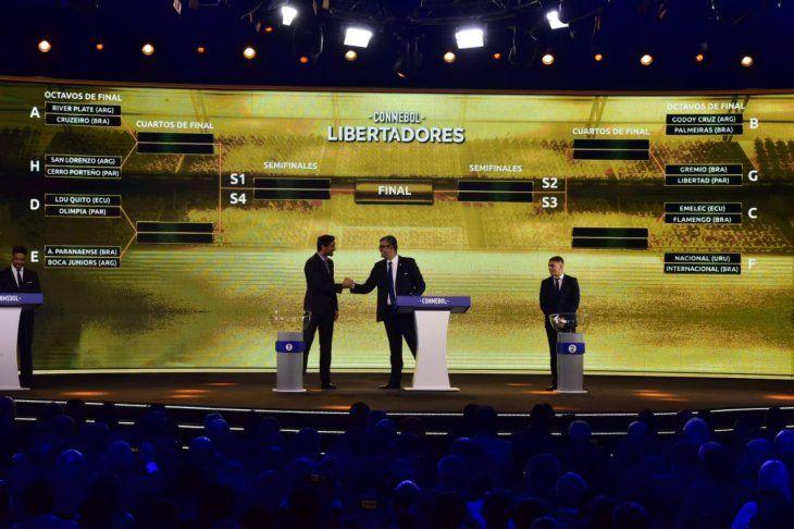 Lindos partidos por los octavos de final de la Copa Libertadores.