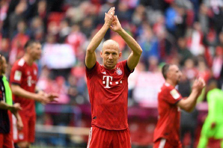 Robben sueña con una despedida perfecta