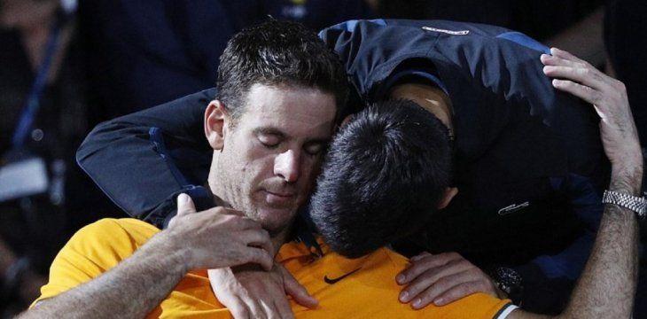 Djokovic: Con Del Potro hemos tenido muchas batallas.