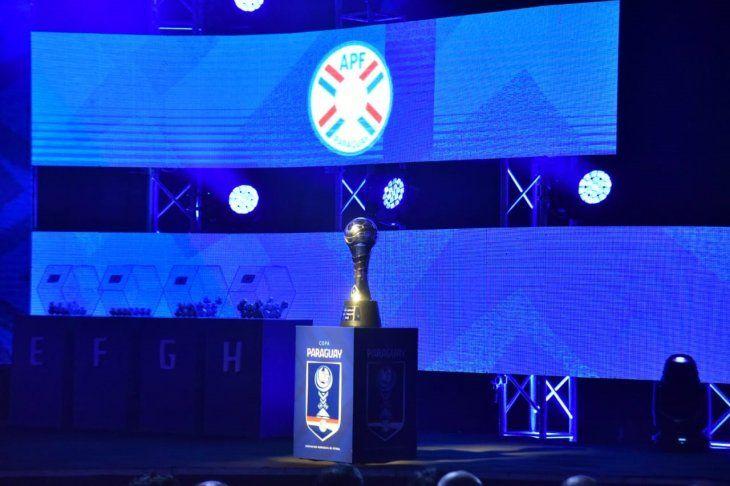 Sorteo de la segunda edición de la Copa Paraguay.