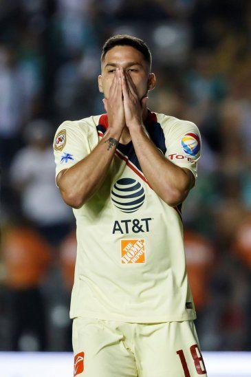 Bruno Valdez se lamenta tras la eliminación del América.