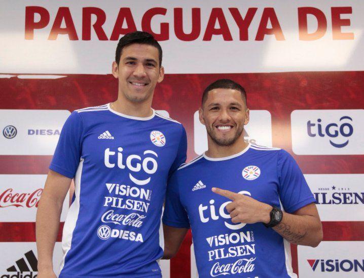 Fabián Balbuena y Richard Ortiz hablaron en conferencia de prensa.