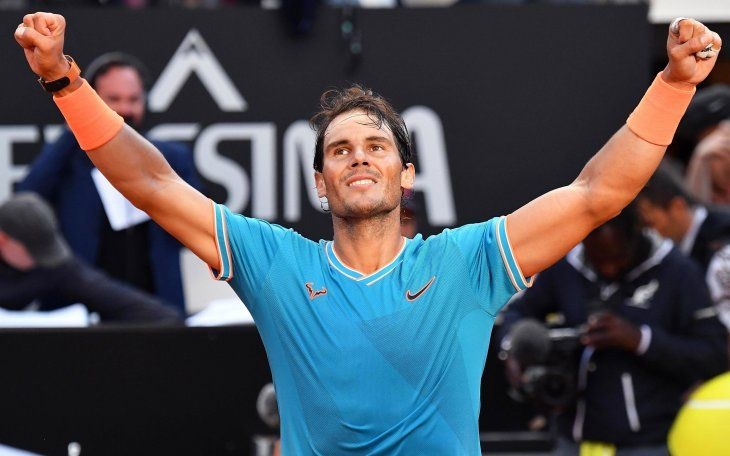 Nadal ya se entrena en Roland Garros