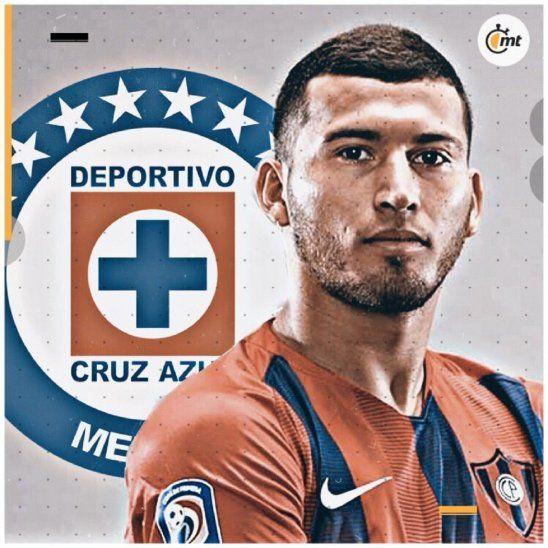Juan Escobar será jugador de Cruz Azul.