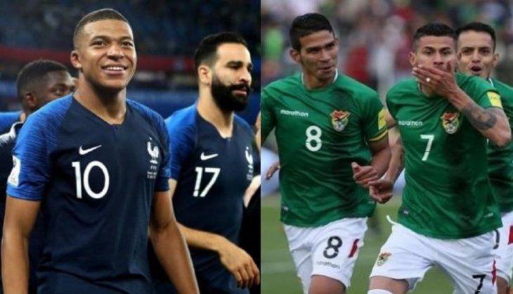 Bolivia se prepara para intentar lastimar a Francia en amistoso.
