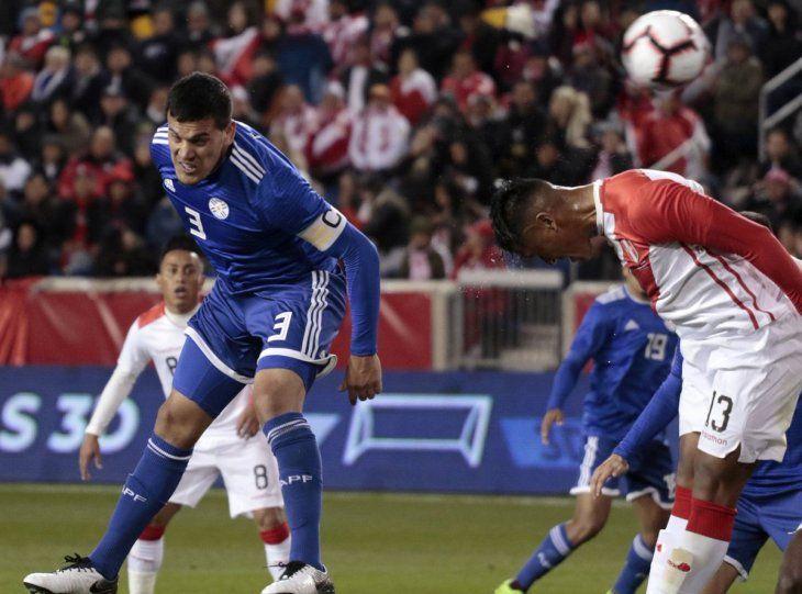OUT. Gustavo Gómez no podrá jugar los dos primeros partidos de la Copa América.