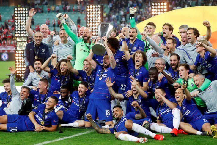 El Chelsea se coronó campeón de la Europa League.