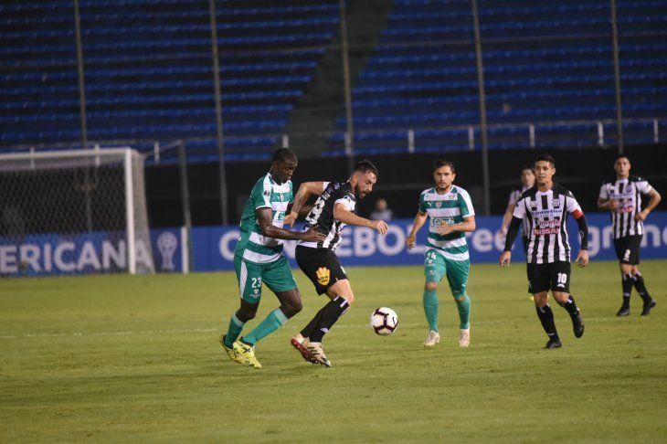 Santaní cayó ante La Equidad y quedó fuera de la Sudamericana.