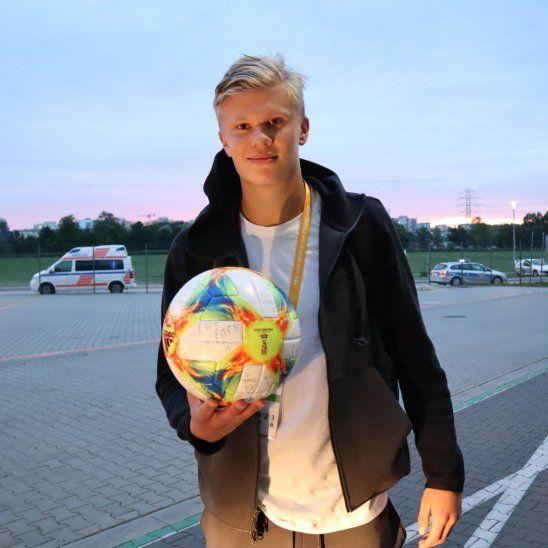 Erling Haland, el noruego que hizo historia al marcar 9 goles en el Mundial Sub 20