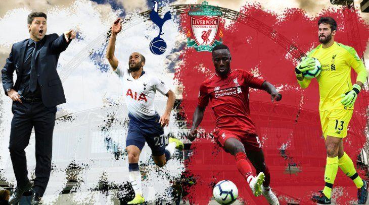 Tottenham Hotspur yLiverpoolserán los protagonistas de la final.