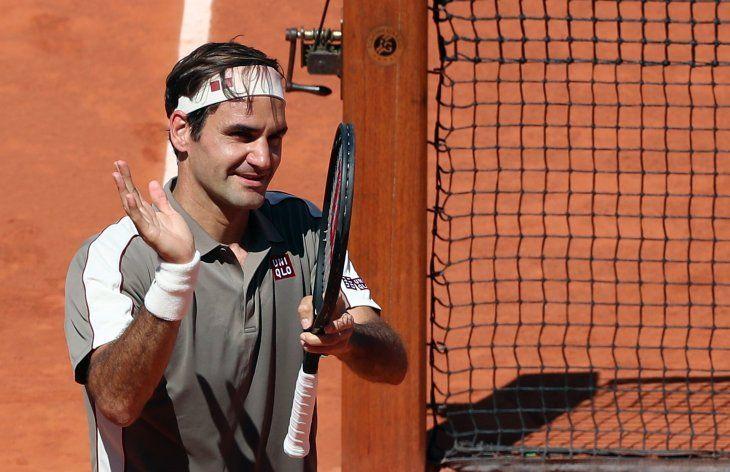 Roger Federer se metió en los cuartos de final.