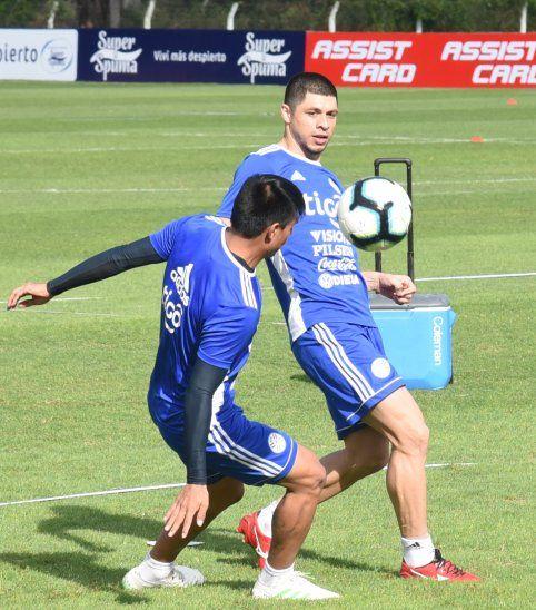 Paraguay sigue entrenando en Ypané.