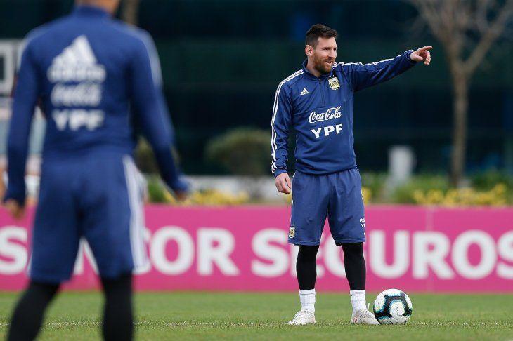 Argentina es uno de los rivales de Paraguay en la Copa América.