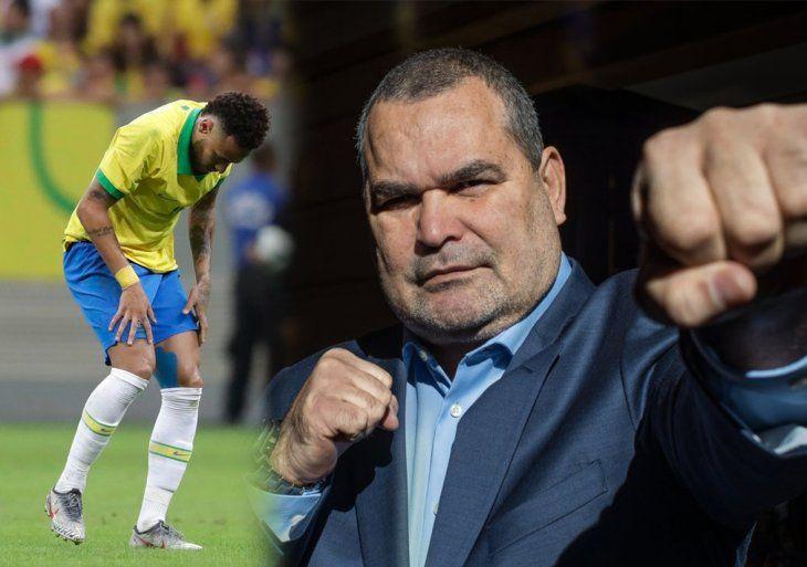 Chilavert dio su opinión sobre el escándalo de Neymar.