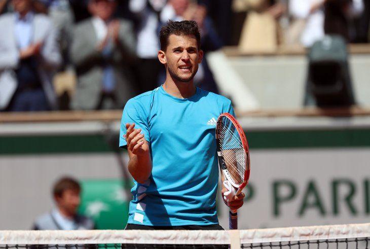 Thiem venció a Djokovic y ahora jugará ante Nadal.