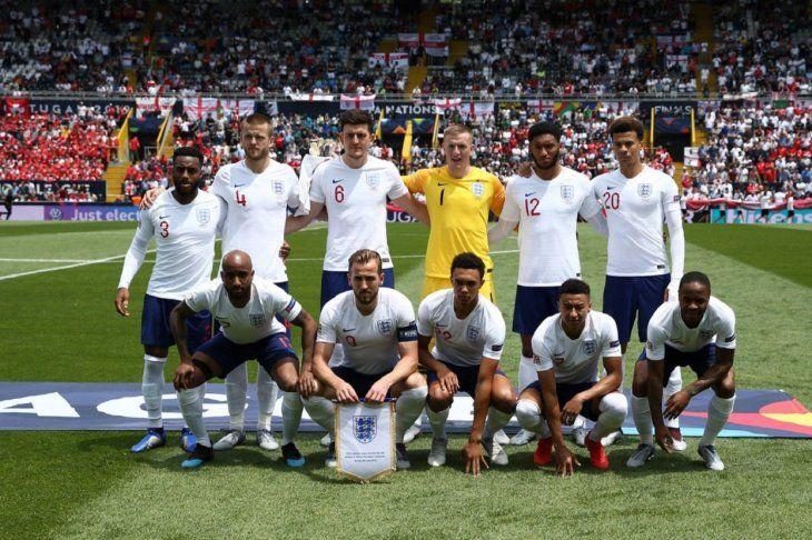 Inglaterra se quedó con el tercer lugar.