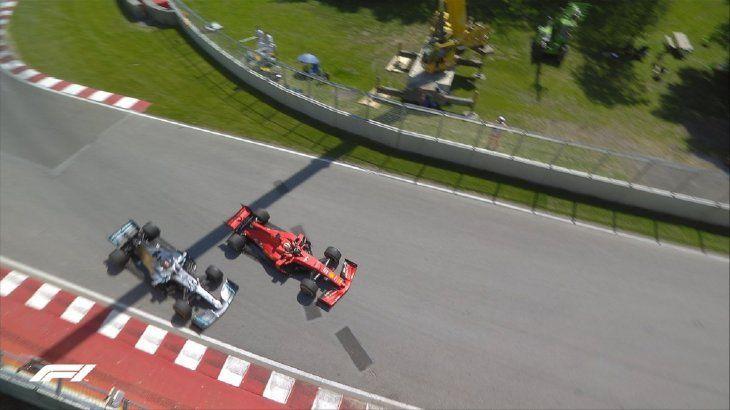 Hamilton refuerza liderato al ganar en Canadá gracias a la sanción de Vettel.