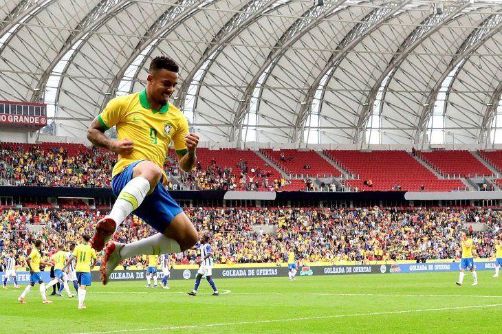 Brasil no tuvo piedad de Honduras.