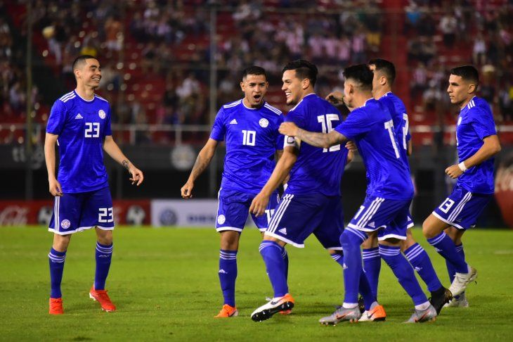 Paraguay venció a Guatemala en la despedida antes de la Copa América.