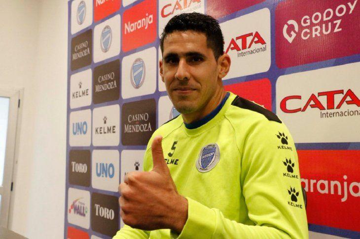 Diego Viera se despide de Godoy Cruz.