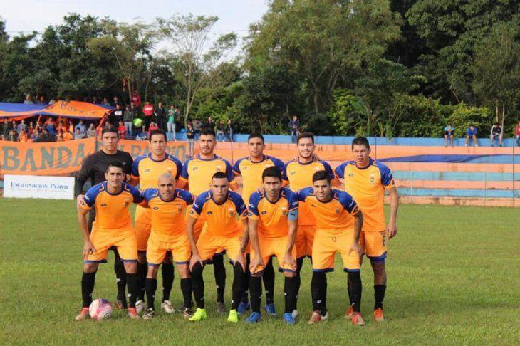 El equipo de Athletic Club de Encarnación.
