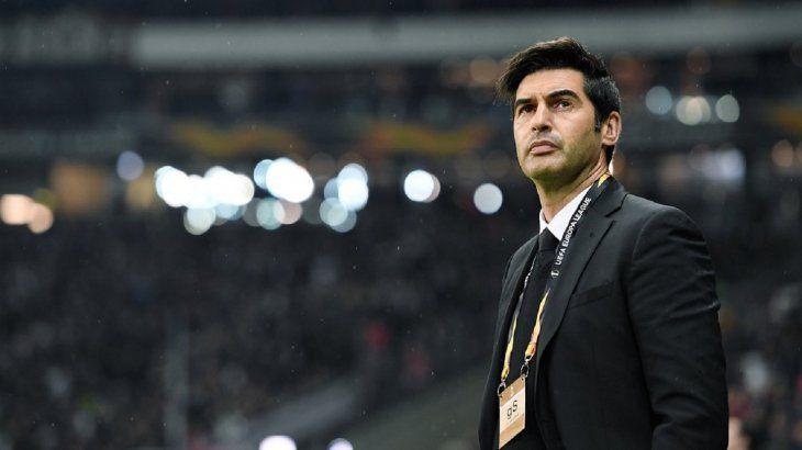 Paulo Fonseca es el nuevo técnico del Roma.