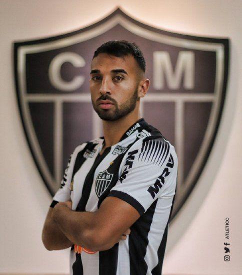 Ramón Martínez fue anunciado como refuerzo de Atlético Mineiro.