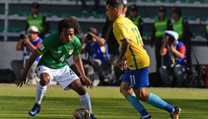 Brasil vs. Bolivia será este viernes.