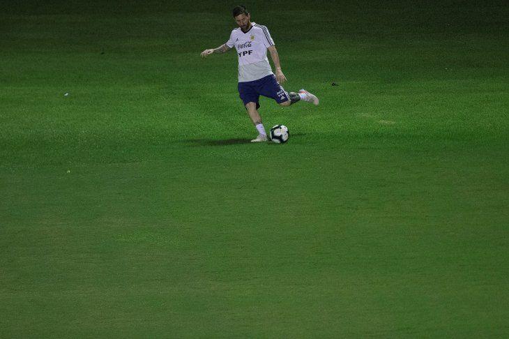 Messi buscará acabar con la sequía de títulos con Argentina.
