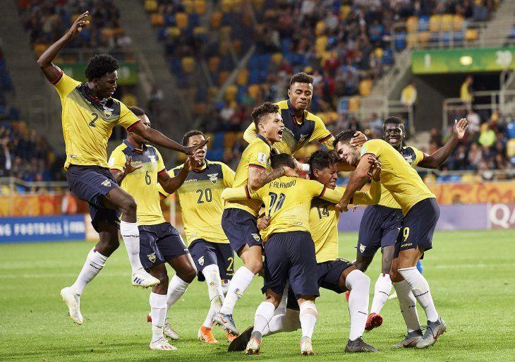 Ecuador se quedó con el tercer lugar del Mundial.