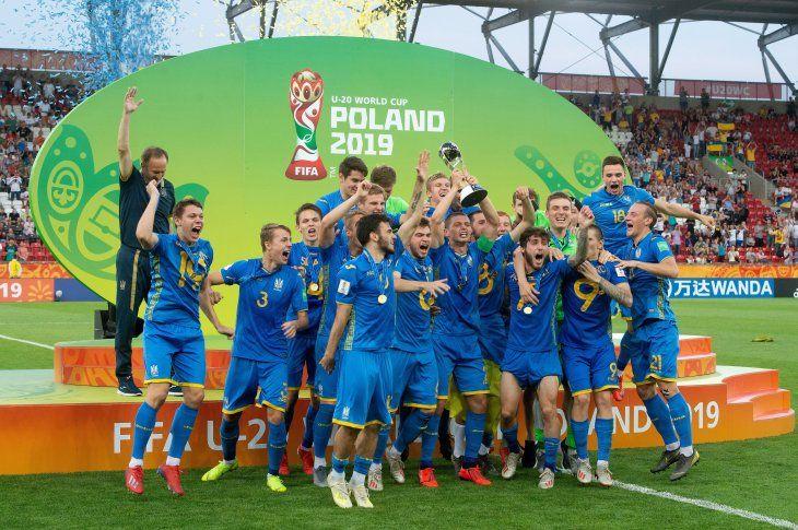 Ucrania se consagró en el Mundial Sub 20 de Polonia.