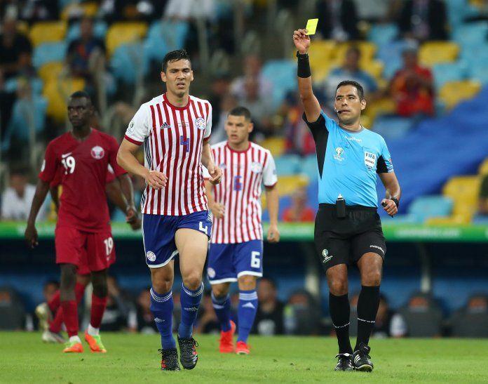 Fabián Balbuena lamentó el empate ante Qatar.