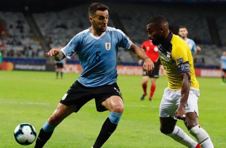 Vecino se pierde la Copa América por lesión.