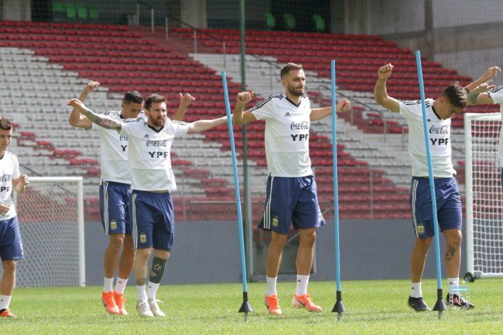 Argentina se prepara para medir a Paraguay.