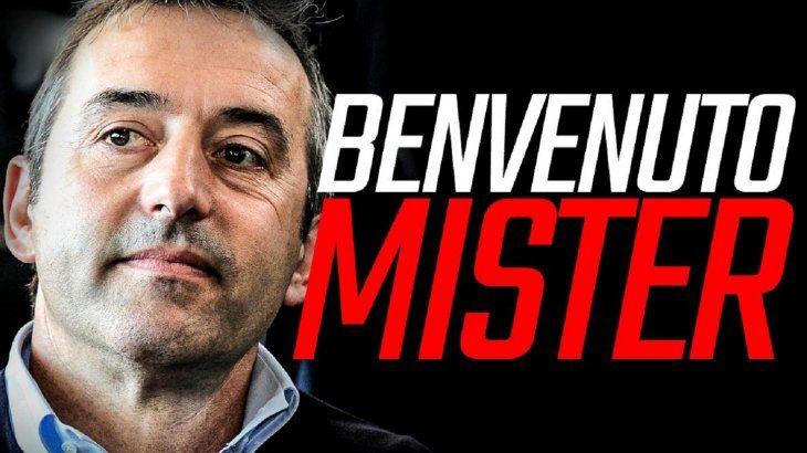 Milan confirmó a Giampaolo en el banco.