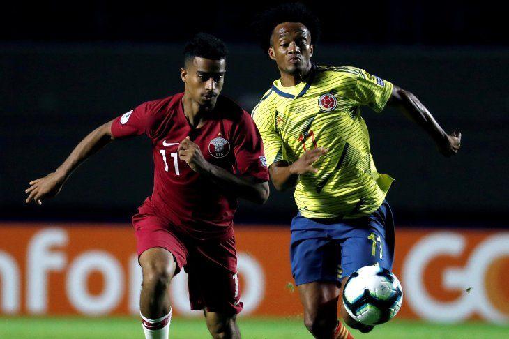 Así fue el triunfo de Colombia ante Qatar