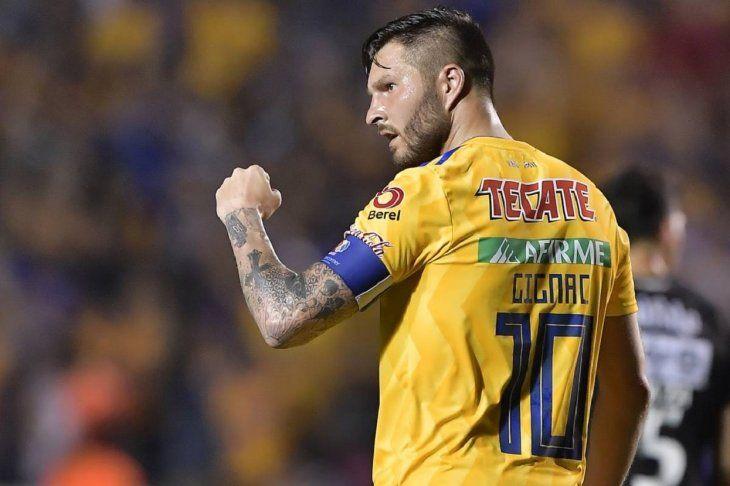 André-Pierre Gignac quiere que los equipos mexicanos regresen a Libertadores.