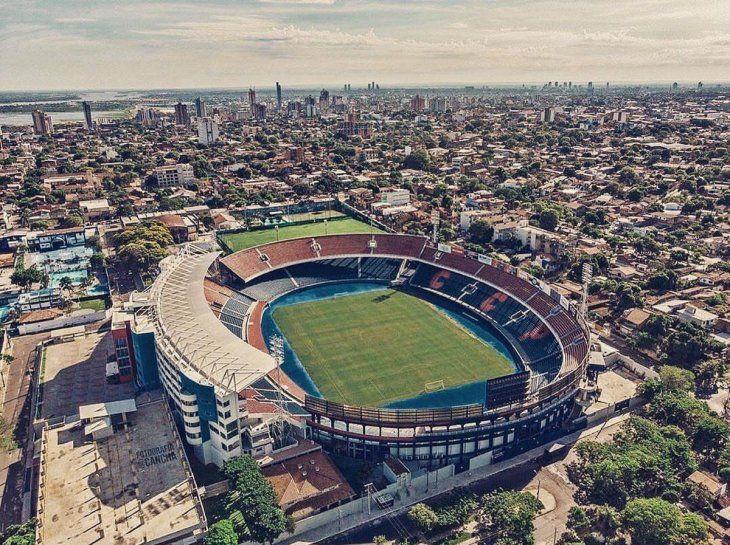 La Nueva Olla recibirá la final de la Sudamericana.