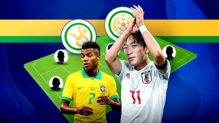Un medio de Brasil hizo el once ideal de la segunda jornada de la Copa América.