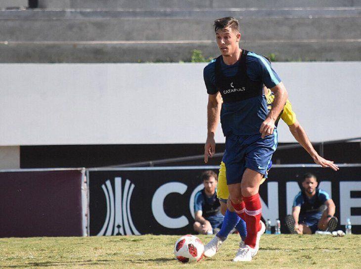 Diego Churín anotó en amistoso del Ciclón.