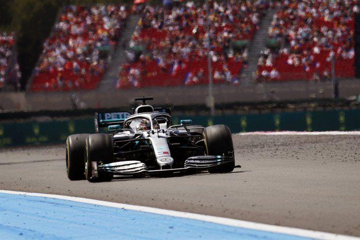 Hamilton se quedó con el triunfo en Francia.