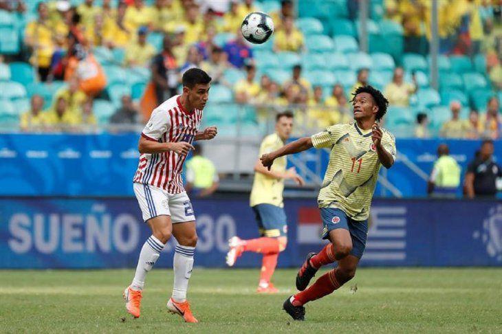 La Albirroja no estuvo a la altura y cayó ante Colombia.