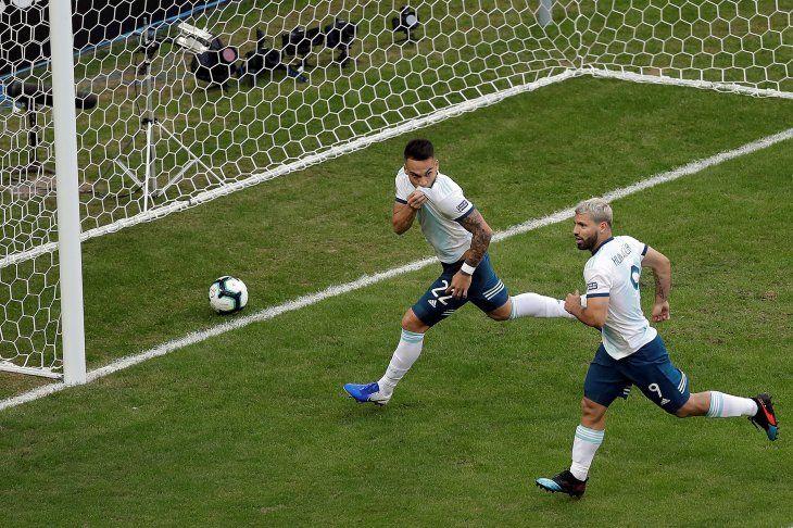 Argentina consiguió la clasificación en la Copa América.
