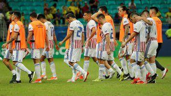 Paraguay no pudo con Colombia.