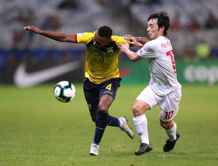 Ecuador y Japón empataron 1-1.