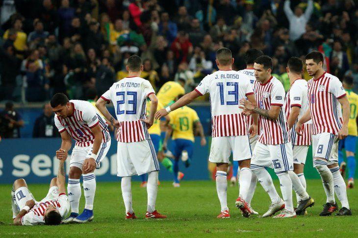 Paraguay cayó de pie ante Brasil.