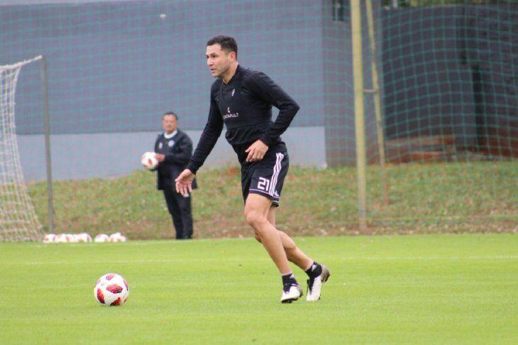 Antolín Alcaraz fue titular en el equipo A de Olimpia.